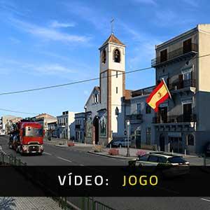 Euro Truck Simulator 2 Iberia Vídeo de jogabilidade