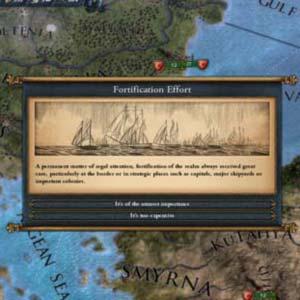 Europa Universalis IV Esforço de fortificação