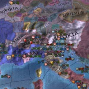Europa Universalis IV Mapa