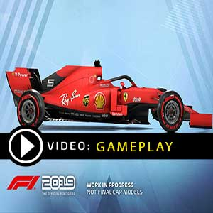 F1 2019 gameplay video
