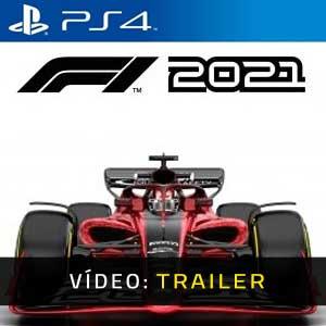 F1 2021 PS4 Atrelado De Vídeo