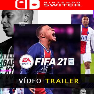 FIFA 21 Vídeo do atrelado