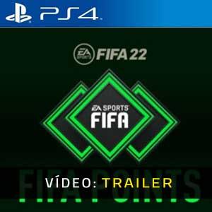 FIFA 22 FUT Points PS4 Atrelado De Vídeo