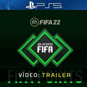 FIFA 22 FUT Points PS5 Atrelado De Vídeo