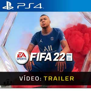 FIFA 22 PS4 Atrelado De Vídeo