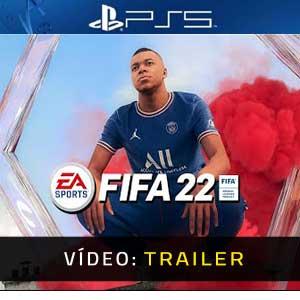 FIFA 22 PS5 Atrelado De Vídeo