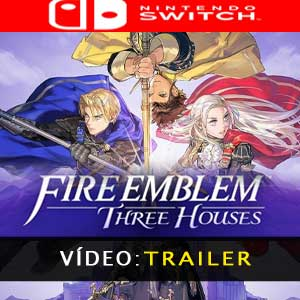 Vídeo do trailer Fire Emblem Three Houses