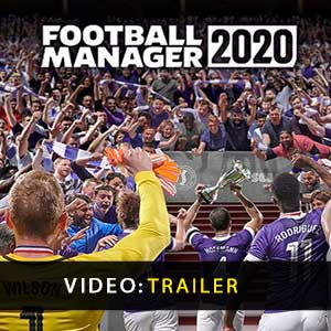 Football Manager 2020 Vídeo do atrelado