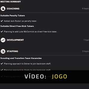 Football Manager 2022 Vídeo De Jogabilidade