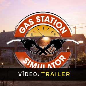 Gas Station Simulator Atrelado De Vídeo