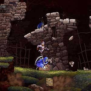 Ghosts n Goblins Resurrection Assassino Do Esqueleto