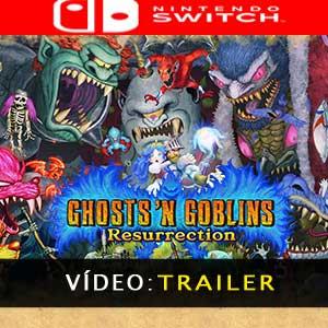 Ghosts n Goblins Resurrection Nintendo Switch Atrelado De Vídeo