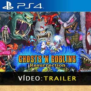 Ghosts n Goblins Resurrection PS4 Atrelado De Vídeo
