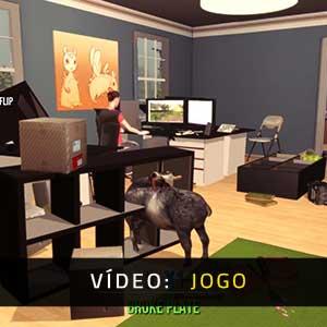 Goat Simulator Vídeo De Jogabilidade