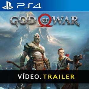 God of War PS4 Video TrailerGod of War PS4 Atrelado de vídeo