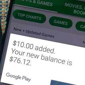 resgatar o cartão de oferta Google Play Gift Card