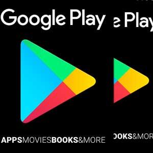 Google Play Gift Card denominações