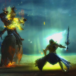 Guild Wars 2 Path of Fire - Imagem de jogabilidade