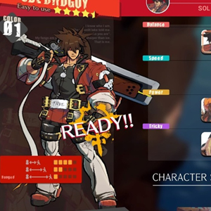 Guilty Gear Strive Selecção de caracteres