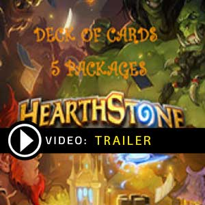 Comprar Hearthstone Deck Of Cards Pack 5 GameCard Code Comparar Precos