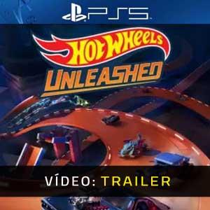 HOT WHEELS UNLEASHED PS5 Atrelado De Vídeo