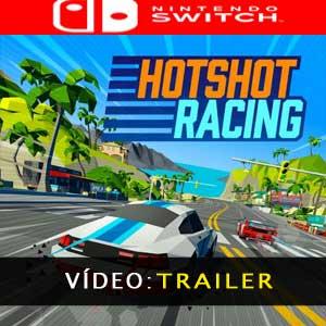 Hotshot Racing Nintendo Switch Atrelado de vídeo