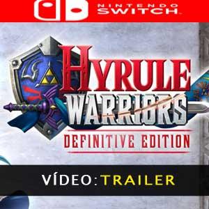 Vídeo do trailer Hyrule Warriors Definitive Edition