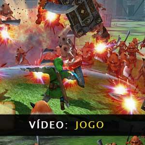 Vídeo de jogabilidade Hyrule Warriors Definitive Edition