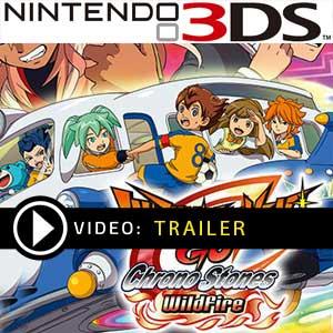 Comprar código download Inazuma Eleven GO Chrono Stones Wildfire Nintendo 3DS Comparar Preços