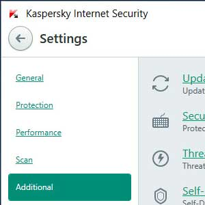 Kaspersky Anti Virus 2019 adicional