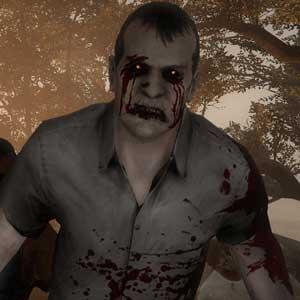 Um grupo de zombies em Left 4 Dead 2