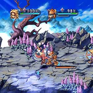 Legend of Mana Combate