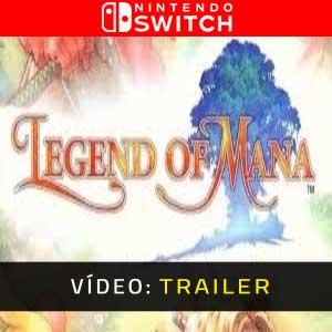 Legend of Mana Nintendo Switch Atrelado De Vídeo