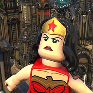 LEGO DC Super-Villains Wonder Woman