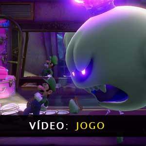 Luigis Mansion 3 Nintendo Switch vídeo de jogabilidade