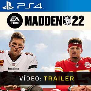 Madden NFL 22 PS4 Atrelado de vídeo
