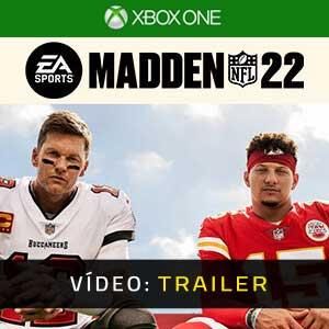 Madden NFL 22 Xbox One Atrelado de vídeo
