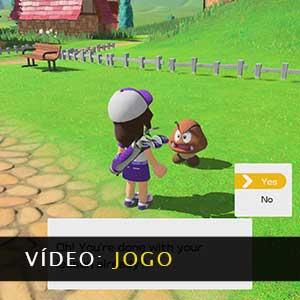 Mario Golf Super Rush Vídeo de jogabilidade