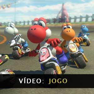 Mario Kart 8 Deluxe vídeo de jogabilidade