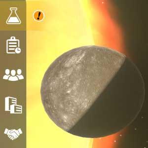 Mars Horizon Mercúrio e Vénus