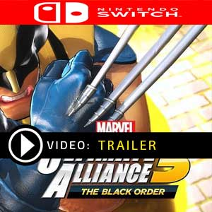 Comprar MARVEL ULTIMATE ALLIANCE 3 The Black Order Nintendo Switch barato Comparar Preços