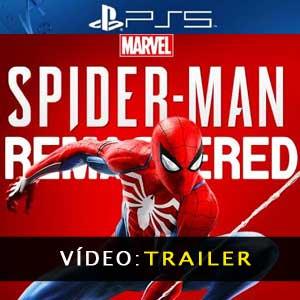 Marvel's Spider-Man Remastered PS5 Atrelado De Vídeo