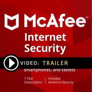 Comprar McAfee Internet Security 2019 CD Key Comparar os preços