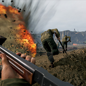 Medal of Honor Above and Beyond VR trincheira