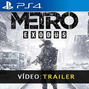 Metro Exodus PS4 Atrelado De Vídeo