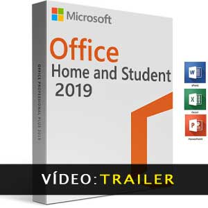 Vídeo do trailer do Microsoft Office Home & Student 2019