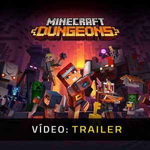 Minecraft Dungeons Atrelado De Vídeo