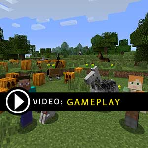 Minecraft Nintendo Wii U Gameplay Video