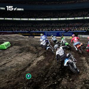 Monster Energy Supercross 4 Corrida