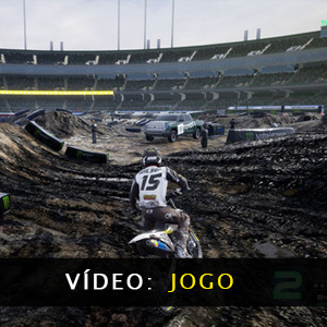 Monster Energy Supercross 4 Vídeo de jogabilidade
